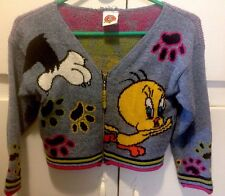 Vintage Acrylic Kid's Looney Tunes Sweater Size 5-6 Made In The USA
