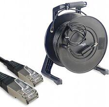 Câble réseau cat6 sftp professionnel câble réseau câble tambour 50m longueur