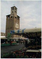 """Piove di Sacco """"La Torre Campanaria nel giorno del mercato"""" NON VIAGGIATA"""