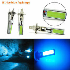 2X H1 Car 8000K 20W Ice Blue COB LED Fog Driving Light DRL Daytime Running Lamps