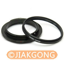 62mm 58mm Macro Reverse Adapter Ring for CANON EF Mount