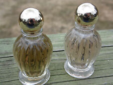 Vintage Coty Sweet Earth Wildflowers Collection Cologne .5 oz Lot 2 Rare HTF