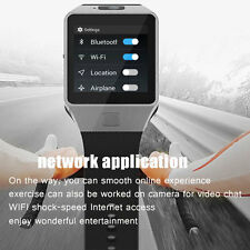 QW09 Smart Bluetooth Sport Fitness Watch Android 4.42 Dual-Core SIM Card Black