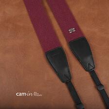 Purple Claret Adjustable Non-slip Camera Strap by Cam-in