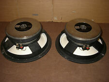 "Pair RARE FOSTEX sle33w -12"" Edge less high end woofer in very good condition"