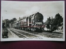 POSTCARD LMS LOCO NO 6116 ON THE ROYAL SCOT EXPRESS