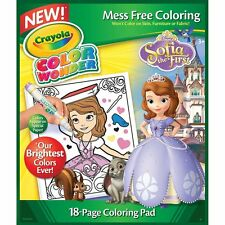 Crayola Sofia The 1st Color Wonder Refill Book For Kids Ages 3yr And Up 75-0239