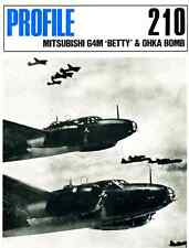 AERONAUTICA AIRCRAFT Publications Profile 210 - Mitsubishi G4M 'Betty' & O - DVD