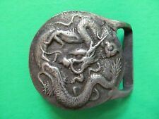 Oxford Vintage 1973 Belt Buckle. Dragon Serpent.