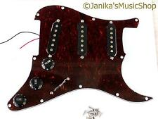 Guitar loaded pickguard SSS tortoiseshell+pickups pick guard stratocaster type