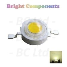 10 x 1W Warm White Power LED - Ultra Bright - 10 Pack - 1st CLASS POST