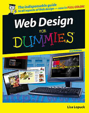 Web Design For Dummies by Lisa Lopuck (Paperback, 2006) Computer & IT Guide