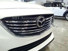 MIT for MAZDA 6 2013-2014-up front grill ABS chrome cover trim garnish