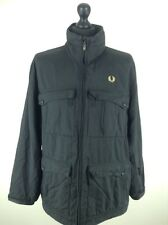 Men's Fred Perry Black Jacket Size L Stock No.295