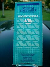 EASTERN AIRLINES SYSTEM   TIMETABLE EFFECTIVE  MAY 1, 1988 GE AIRFONE AD