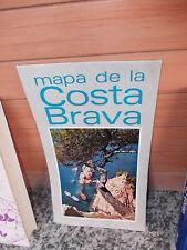 Mapa de la Costa Brava