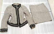 Agnona Tweed Boucle skirt suit size IT 42 us 6