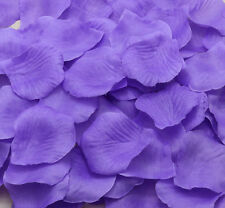 100pcs deep purle Simulation Rose Petals Flowers For Wedding Party Decoration