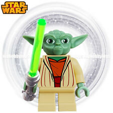 LEGO Star Wars Minifigures - Yoda w Lightsaber (Gray Hair 7964, 8018) Minifigure