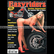 EASYRIDERS N°362 HARLEY CUSTOM BIKE & CHOPPER PAUL YAFFE NICOLAS CHAUVIN 2003