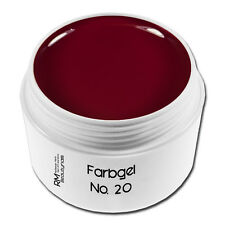 Farbgel Colorgel UV-Gel 5ml No.20 Rot Red Nageldesign Nailart #00730-20