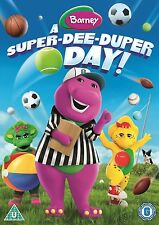 Barney: A Super-Dee-Duper Day! [DVD]  Brand new and sealed