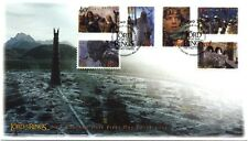 2002 New Zealand - Lord of the Rings . The Two Towers - Self Adhesives FDC