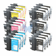 22 PK LC61 Ink for Brother MFC-J630W MFC-J615W MFC-J415W MFC-J410W MFC-J270W