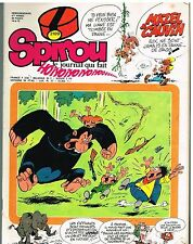 A7- Spirou N°2109 Boulouloum et Guiliguili+ Supp Sir Charles apple