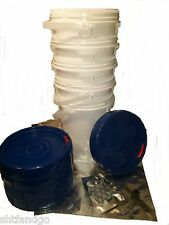 USA Made DIY Mylar Bags comes with Heat Sealer,  LifeLatch Buckets, O2 and More.