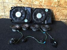BMW E90 E91 328I OEM AUDIO SOUND SPEAKER SPEAKERS TWEETERS SUBWOOFER SUBWOOFERS