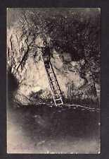 100535 AK Kalkwerk Miltitz Klipphausen 1910 Bergbau Stollen Hauer unter Tage