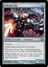 VOLATILE RIG Return to Ravnica MTG Artifact Creature—Construct RARE