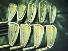 Honma Mens LB606 New H&F 18K gold golf iron 2stars 4 - SW Excellent!