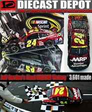 JEFF GORDON 2015 MARTINSVILLE WIN RACED VERSION 1/24 ACTION