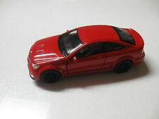 1:38 SCALE WELLY MERCEDES-BENZ C63 AMG DIECAST PULLBACK W/O BOX
