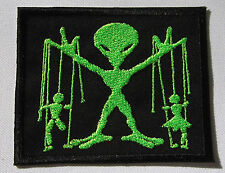 Alien Puppet master patch Alien UFO Alien Master Iron or Sew on Patch