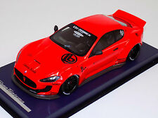 1/18 Maserati Gran Turismo Coupe in Red LB Performance Leather Base w/ Decals