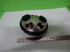MICROSCOPE PART OLYMPUS JAPAN NOSEPIECE BH2 AS IS BIN#V8-07