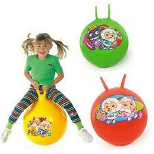 "Space Hopper Jump and Bounce Ball Childrens Kids Bouncing Toy GIFT FUN 21"" INCH"