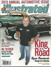 OCTOBER 2013 NASCAR ILLUSTRATED RACING MAGAZINE RYAN NEWMAN COVER