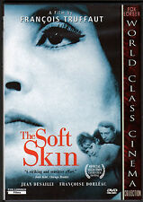 THE SOFT SKIN-Publisher is torn between wife and mistress-FRENCH-LA PEAU DOUCE