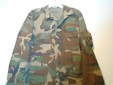 GENUINE USGI AIRCREW COMBAT CAMO COAT CLASS 1 FIRE RESISTANT LARGE REGULAR 10-N