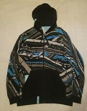 Lifted research group hoody full zip noir bambou magna style anime xl art lrg