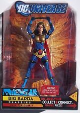 DC UNIVERSE CLASSICS BIG BARDA UNMASKED ACTION FIGURE. NEW ON CARD 2008 MATTEL