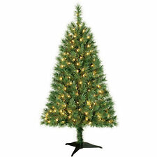 Winston Pine 3' Artificial PreLit Clear Lights Christmas Tree w/Base 1-Day Ship