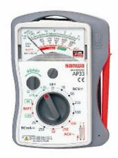 New SANWA Analog Multi Tester Multimeter AP-33 AP33 Japan