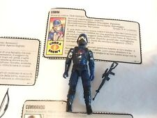 ENEMY SOLDIER Gi Joe G.I.Joe GiJoe HASBRO arah action force file card ITA