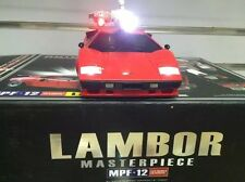 Oversized Sideswipe Transformers MP12 MPF-12 Lamborghini 1/18 scale with lights