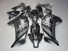 Grey Black ABS Injection Bodywork Fairing Kit for KAWASAKI ZX10R 2011-2013 12